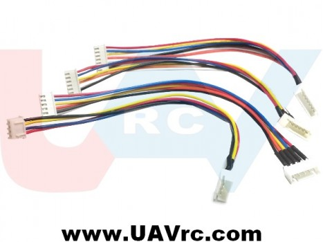Lipo Balance Extension JST-XH with 22AWG Silicone Cable -25cm