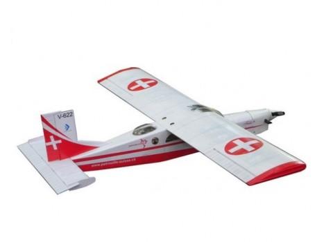 VQ Pilatus Porter 2.72m (23-30cc), Swiss version -VQA059G