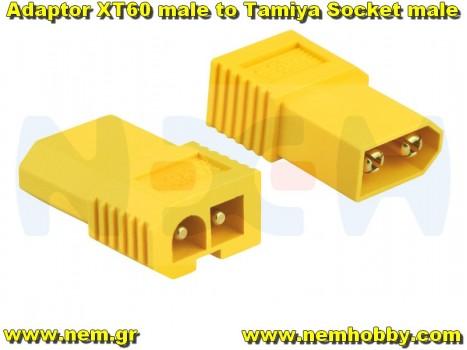 Adapter XT60 Male to Tamiya male