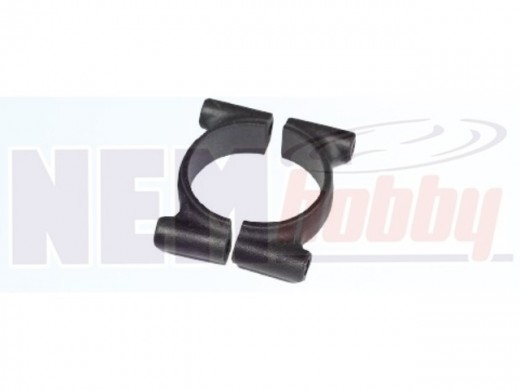 Tube Clamp 25mm Plastic -Black