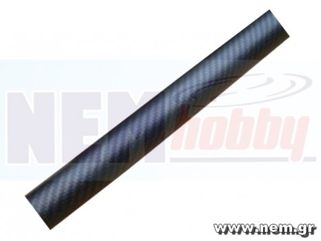 3K Carbon Tube 16x14mm Matt Finish -1mtr