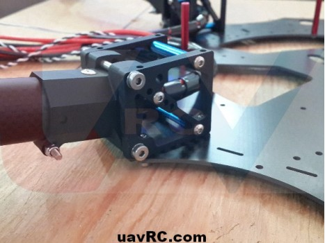 CNC Landing gear system for heavy duty multicopters -combo