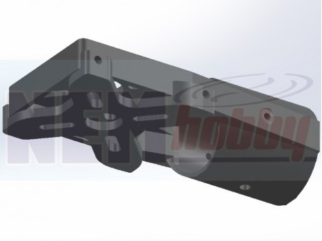 CNC Aluminium Motor Plate for Dual Motors