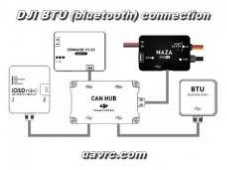 DJI Can-Bus Hub -4 Port Expansion Module