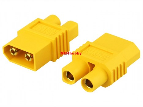 Adapter XT60 Male to EC3 Plug Female
