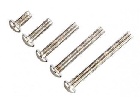 Button Head Screw M3x35mm x10pcs -Silver