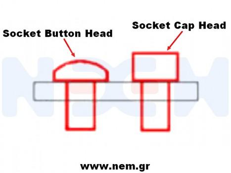 Cap Head screw M2.5x12mm x10pcs -Silver
