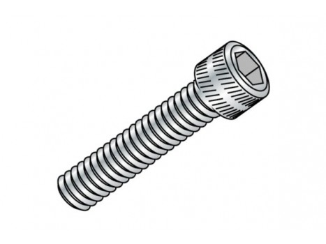 Cap Head screw M3x12mm -Silver