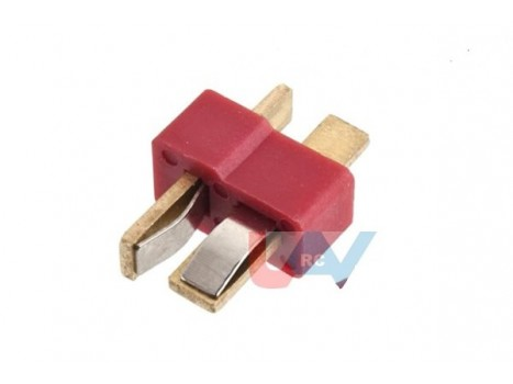 Connector Gold T-Plug -Pair