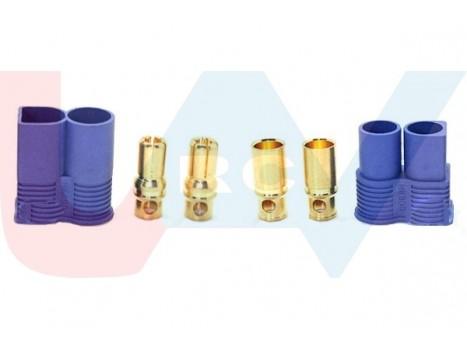 Connector EC8 -Set (female -male) 2pcs