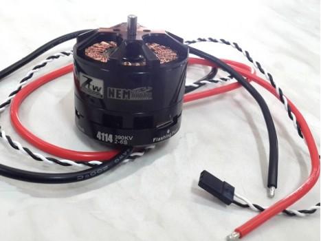 Brushless Motor 4114-390KV built-in ESC 40A Opto BL-Heli