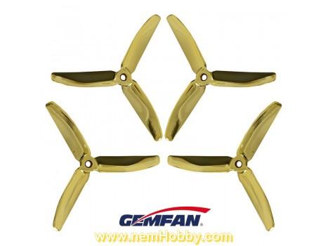 3Blade 5040 Gemfan Master Series 2Pair/4pcs -Ghost Gold