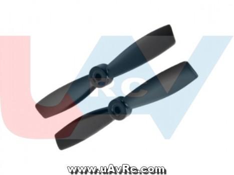 Bullnose 3.5x4.5 Propeller set CW/CCW -Black