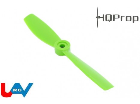 "Bullnose 5x4.5"" HQPro Propeller CCW -Black/Green/Orange"