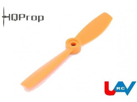"Bullnose 5x4.5"" HQPro Propeller CW -Black/Orange/Green"