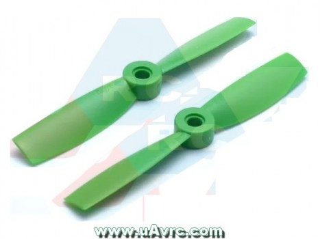 Bullnose 4x4.5 Propeller set CW/CCW -Green/Orange/Red