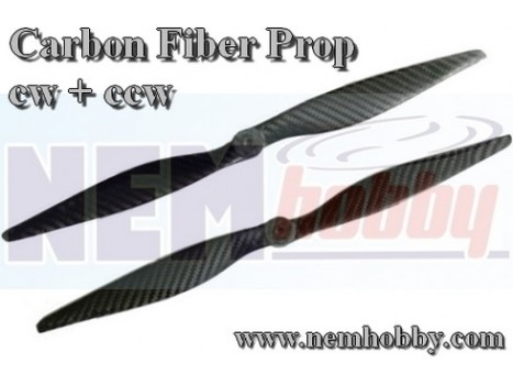 Carbon Fiber 15x4 CW+CCW -Set