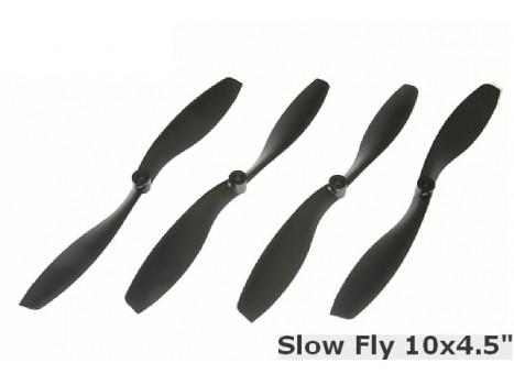 Gaui Slow-Fly 10x4.5 Gaui Propellers set CW+CCW (4pcs) -Black