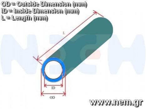 3K Carbon Tube 20x18mm Matt Finish -1mtr