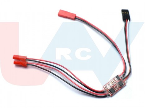 Dual LED Controller Two Channels 2A for FPV, RC Models