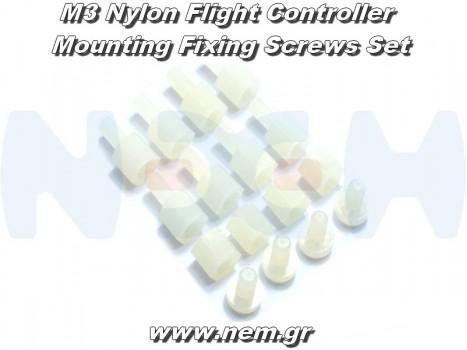 M3 Nylon Flight Controller Mounting Fixing Screws Set