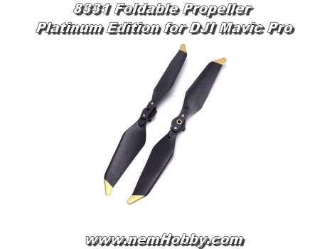 8331 Foldable Propeller Platinum Edition for DJI Mavic Pro