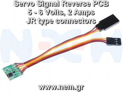 RC Servo Signal Reverse Rotation, 5-6Volts, 2Amps