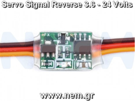 RC Servo Signal Reverse Rotation, 3.6 - 24Volts, 2Amps