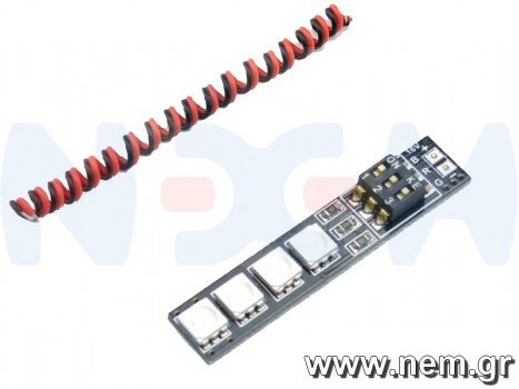 RGB 5050 16V LED Light Board with DIP Switch for 7 Colors