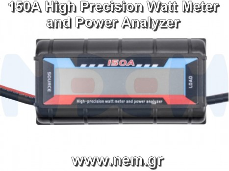 Precision Watt Meter 150A and Power Analyzer