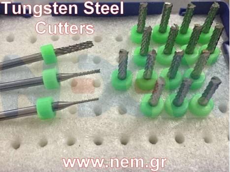 Tungsten Steel Cutter 1/2/3.175mm for 3K Carbon Fiber Sheets