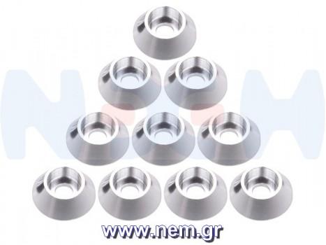 Aluminium Washer M3 Cap Head Screw x10 pcs -Black/Red/Blue/Silver color