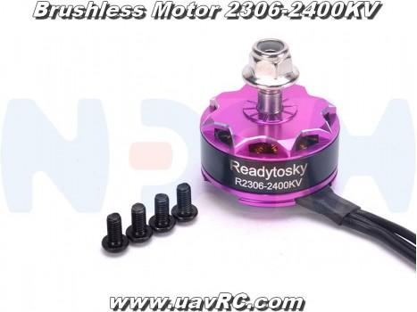Brushless Motor 2306-2400KV for Racing Drones